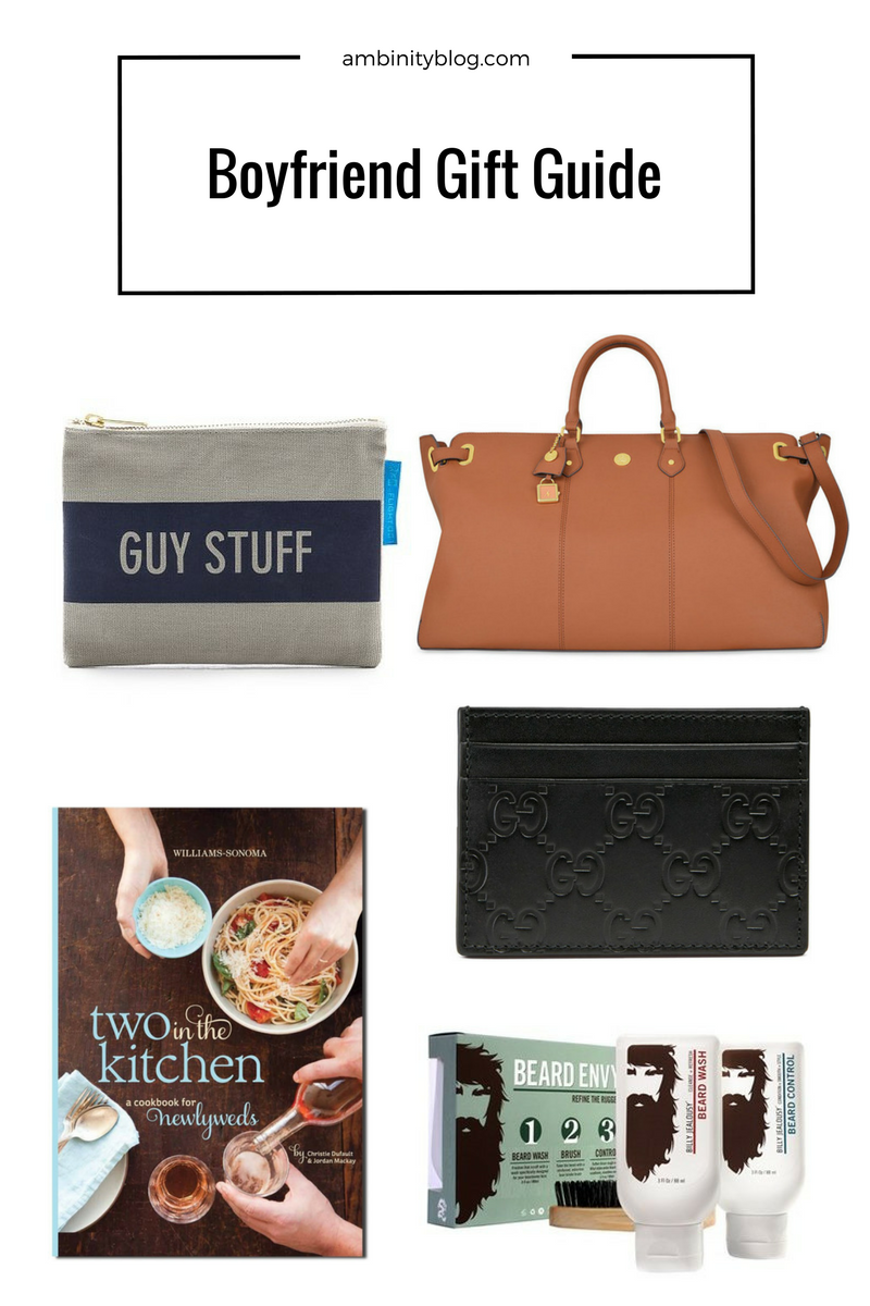 boyfriend gift guide