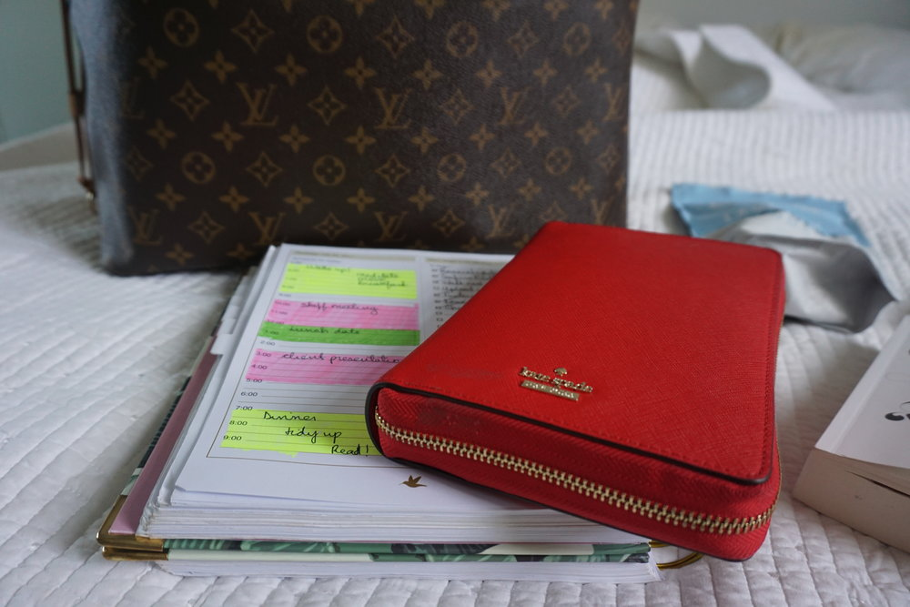 meaningful growth planner, kate spade agenda