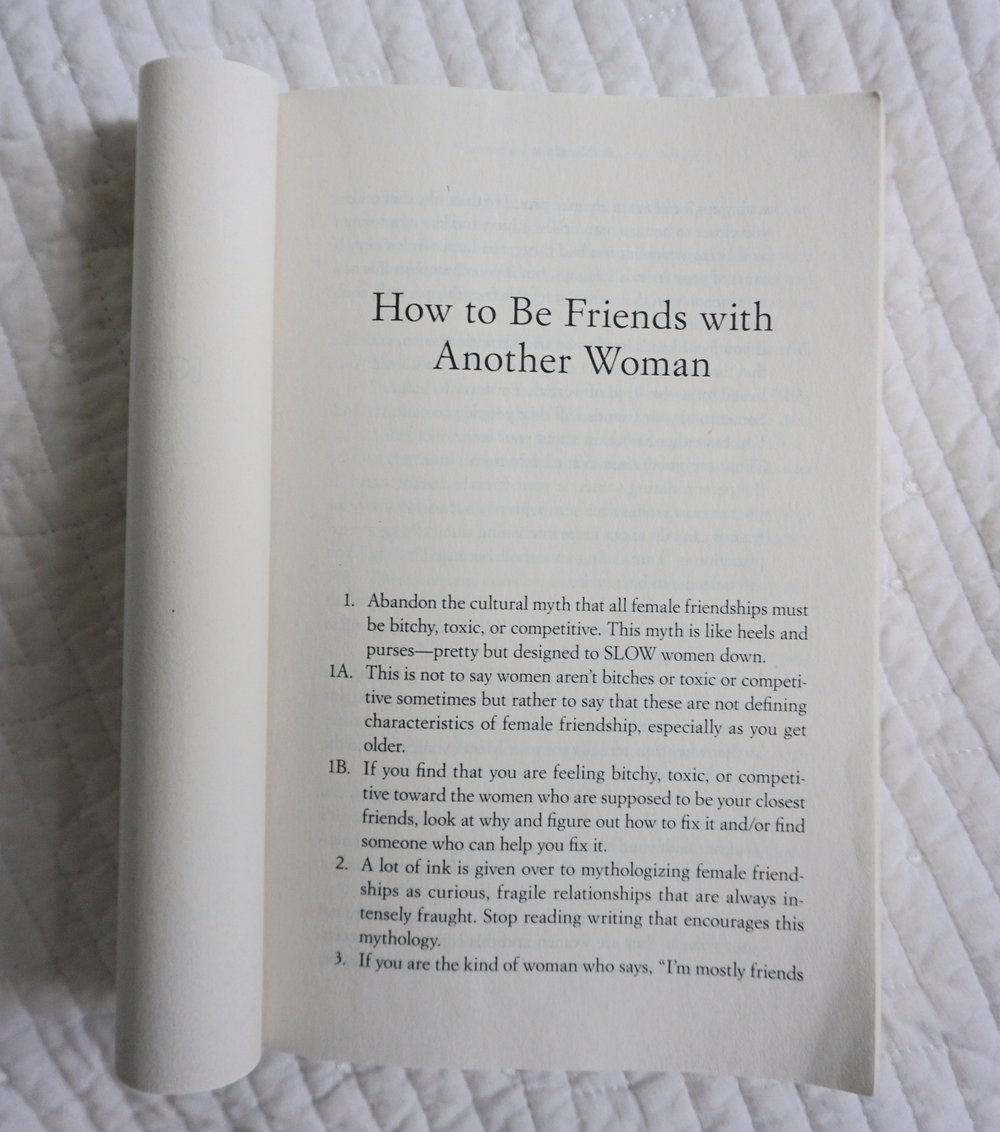 bad feminist roxane gay how to be friends with women