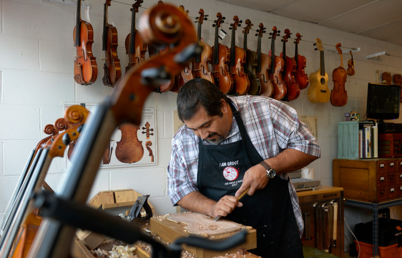 Trujillo family crafts old-world string instruments in Westminster - The family-owned music shop celebrates its 7th anniversary this week.As published by The Denver Post. Read the full story here.