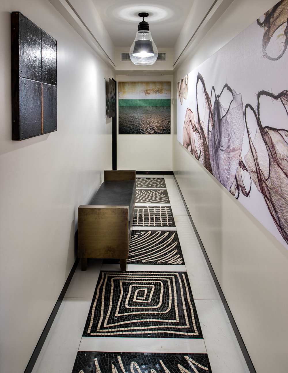 An Upper East Side hallway by Ari Group, Inc. New York