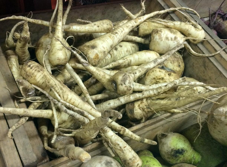 parsnips CSA organic