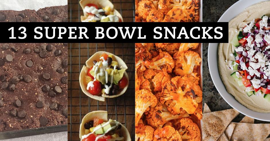 vegetarian super bowl snacks