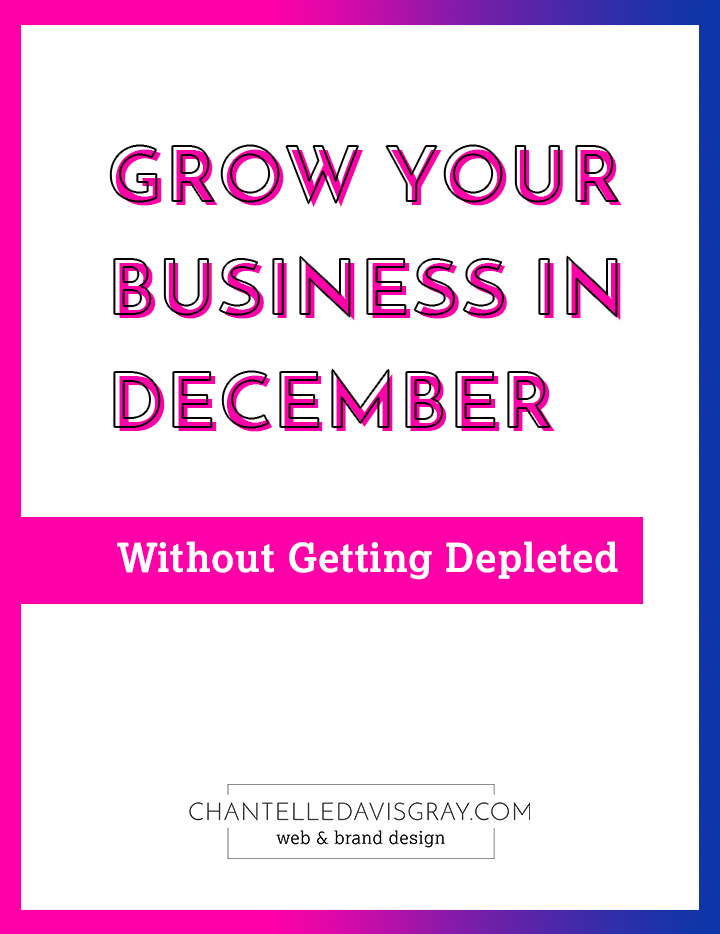 Pep talk to grow your business without