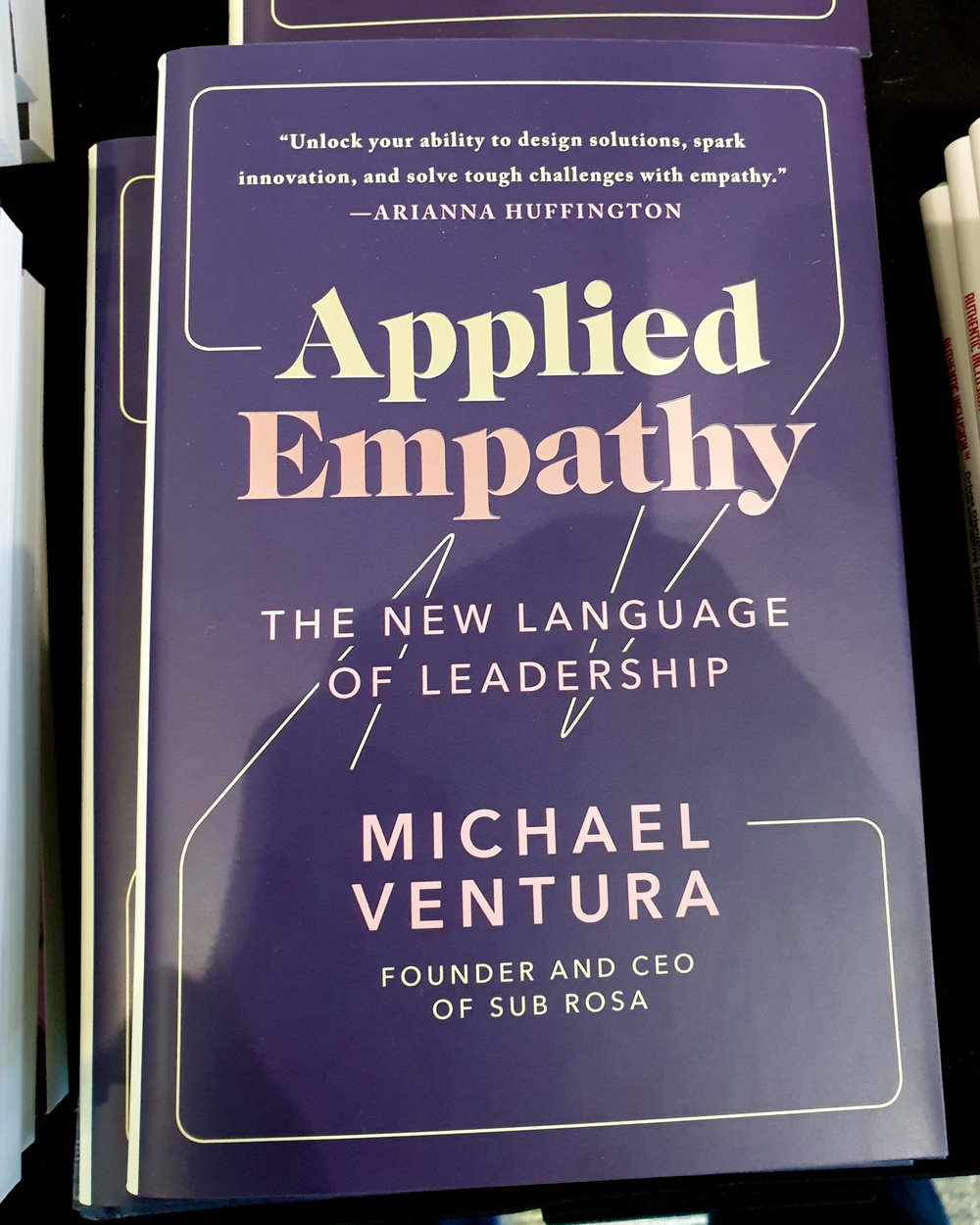 Books on empathy for managers are sold at the SXSW bookstore. But has empathy turned into a box-ticking exercise?