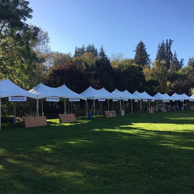 All set and ready for #grazing tomorrow! #foodwinebeerfestival #fightcancer #cancersucks #aptos #santacruz