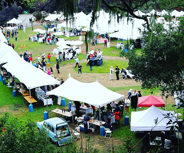 Gourmet Grazing on the Green - the best foodie festival in Santa Cruz County! #fightcancer #cancersucks #santacruz #aptos #wine #beer #cider #spirits #localfood