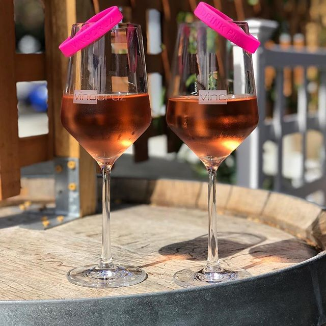 #Repost @vinocruzwinebar with @get_repost ・・・ Our Drink Pink promotion for Breast Cancer Awareness is still going strong! Order off our Pink menu and proceeds will be donated to the Santa Cruz Cancer Benefit Group and will support local initiatives for cancer research and quality care. 🥂🥂🥂🥂🥂🥂🥂 By participating you will also be entered into our weekly raffle. We've received generous donations of: *Vin Gris from @birichino_official *Complementary wine tasting from @bargettowinery *VIP tasting and tour from @closlachancewinery *Gift Certificates for skin treatments from Aptos Medical Aesthetics * Rosé from @lamadronawinery 🥂🥂🥂🥂🥂🥂🥂 Hope to see you soon! Cheers!