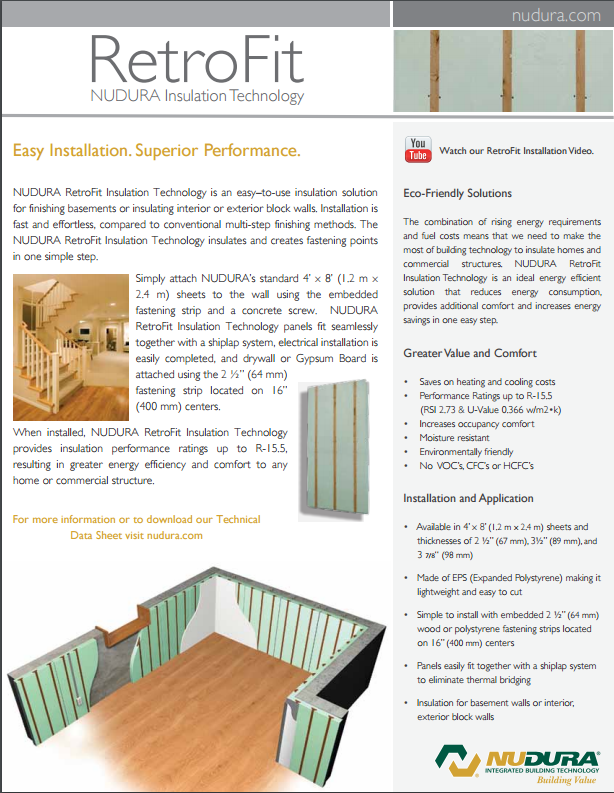 Download the RetroFit Brochure