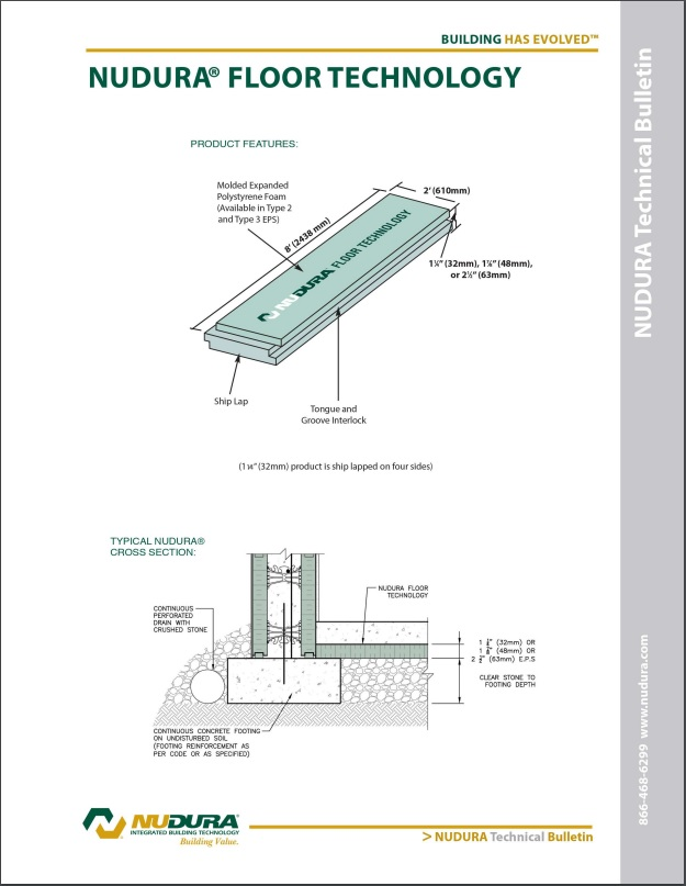 NUDURA Floor Technology