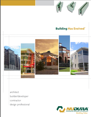 Click here to view NUDURA's Brochure for Builders/Designers