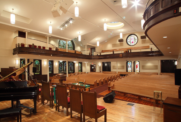 FIRST CONGREGATIONAL CHURCH UCC, PHASE II