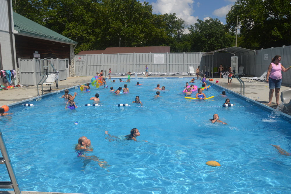 Swimming Pool Southeastern Baptist Youth Camp