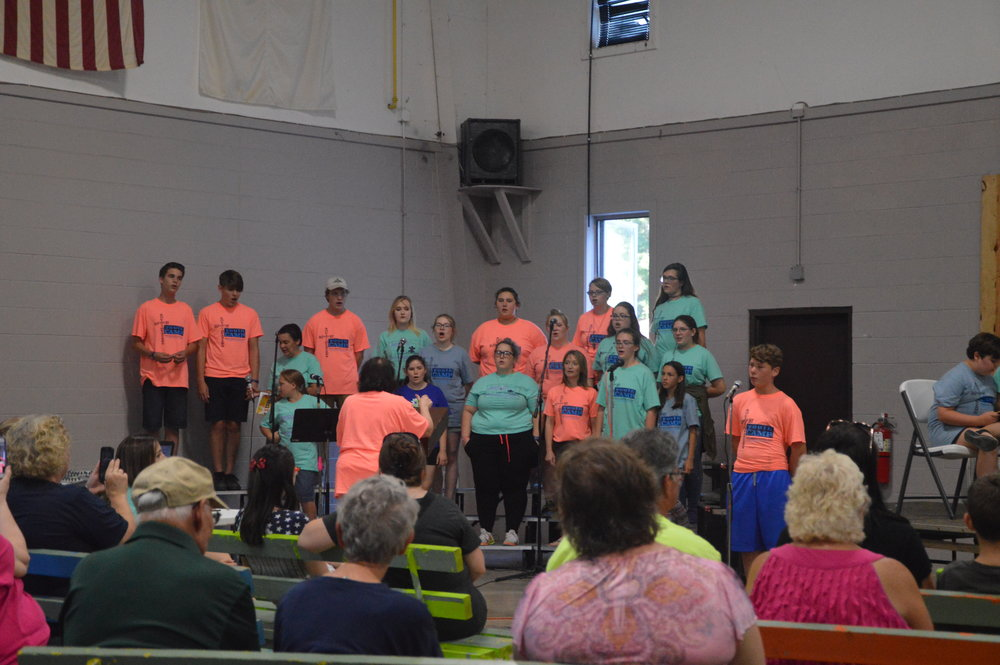 CLICK HERE TO VIEW PHOTOS FROM MUSIC CAMP 2018