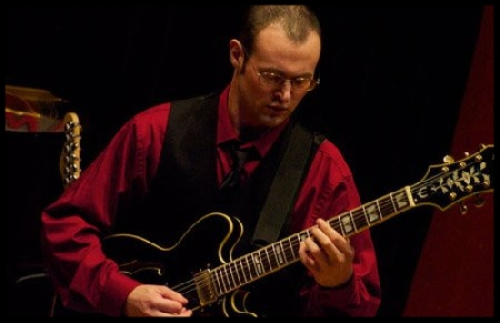Eric Giribaldi , Guitar teacher at Winchester Stage Music Center.