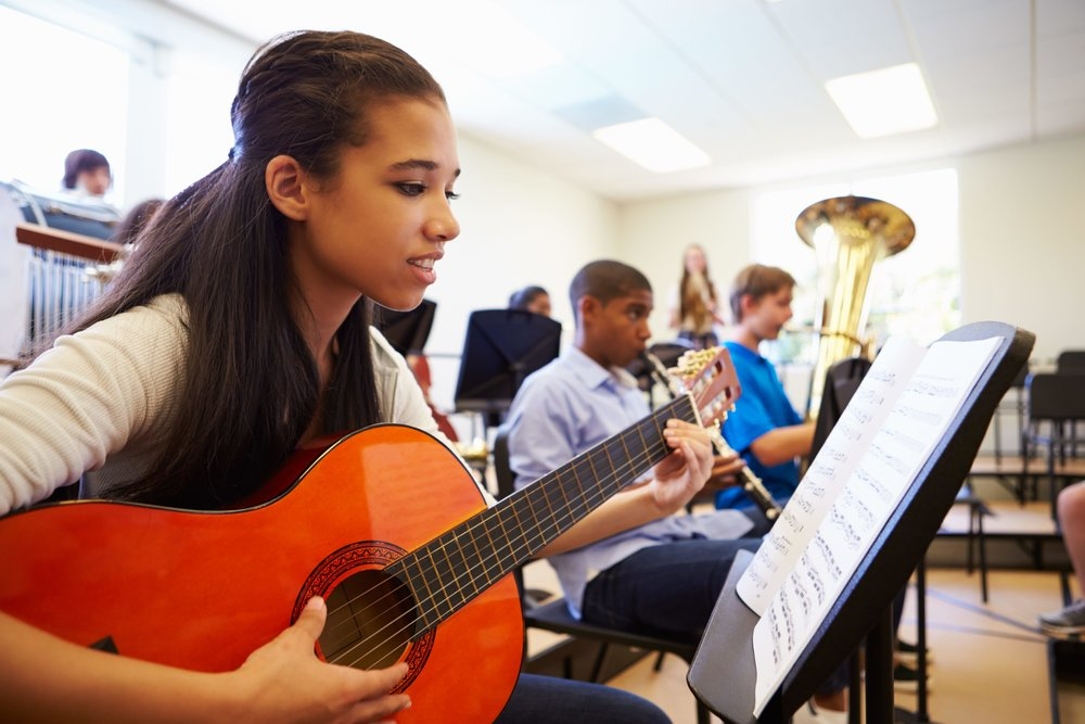 There are many benefits of taking private lessons, even for the student who plays in the school band.