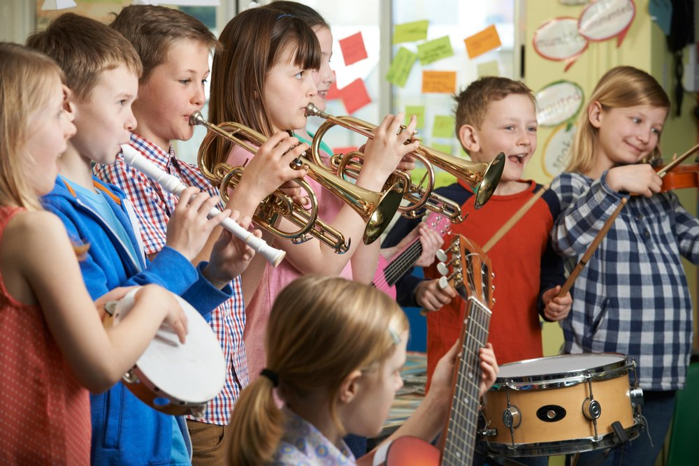 When a student is guided through their music lessons week after week, they are also being taught to keep at it and not give up.