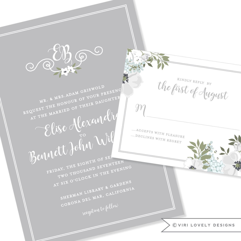 Viri Lovely Designs   Custom Wedding Invitations   Event Invitations ...