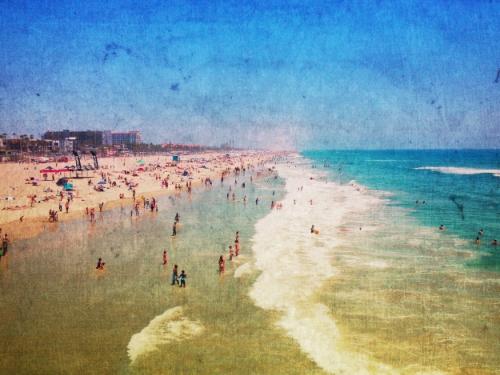 Huntington Beach + dust overlay