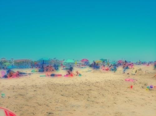 Huntington Beach sceen + blur