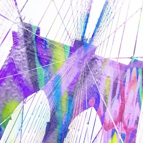 Brooklyn Bridge + Random graffiti from HOPE Outdoor Gallery in Austin