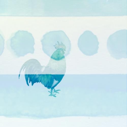 Rooster + Watercolor (cocka)doodle(doo)