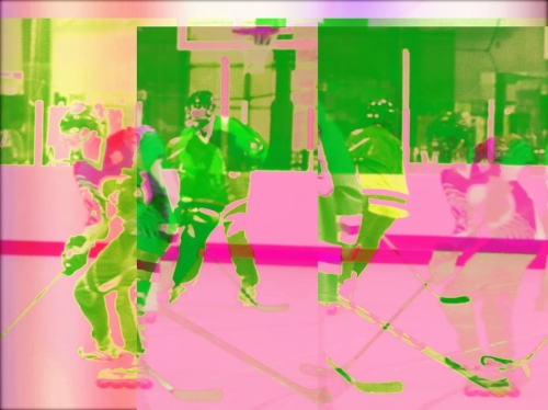 Pop art hockey