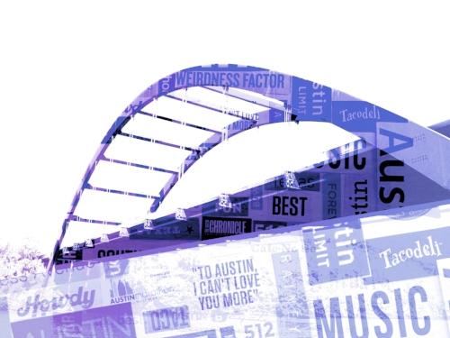360 (Pennybacker) Bridge + ATX word art