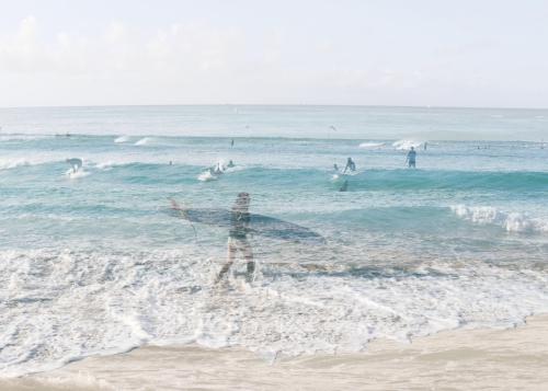 Surfer girl + Surfers