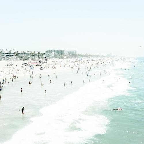 Faded Huntington Beach