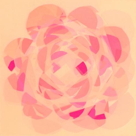 Half circles x 3 = Flower