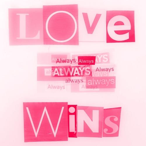 Love (always x 12) wins