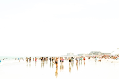Beach people + Reflections 2.0