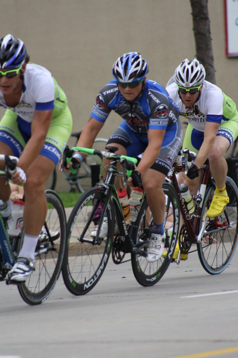 Marky, third wheel, racing Appleton ToAD, 2010. Photo courtesy of Jeramy Werbelow.