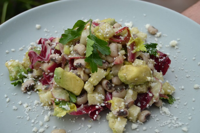 Black Eyed Pea Chopped Salad