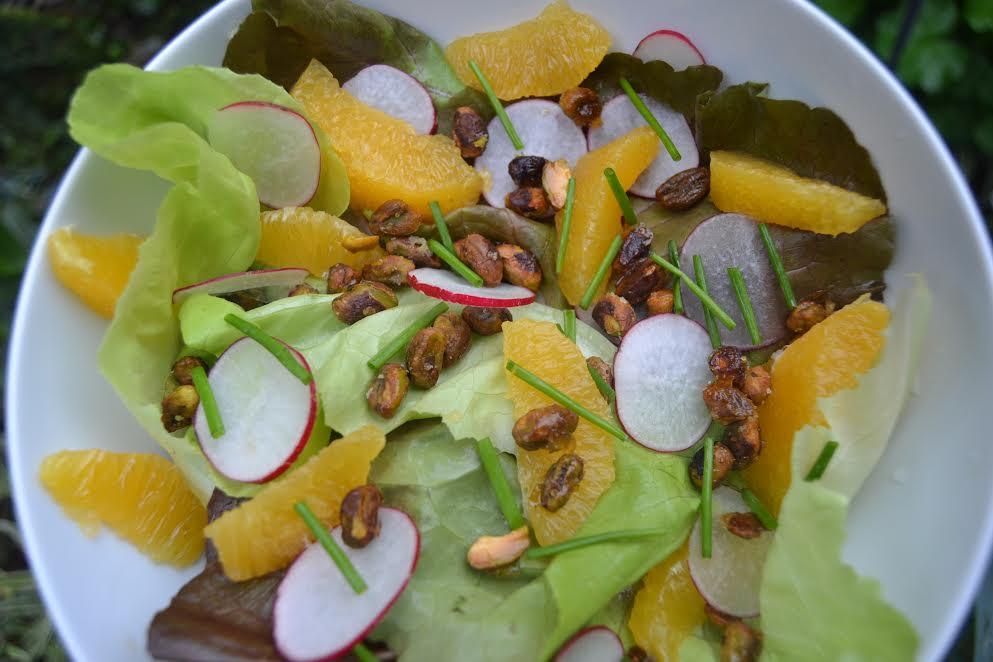 Butterleaf Lettuce Salad