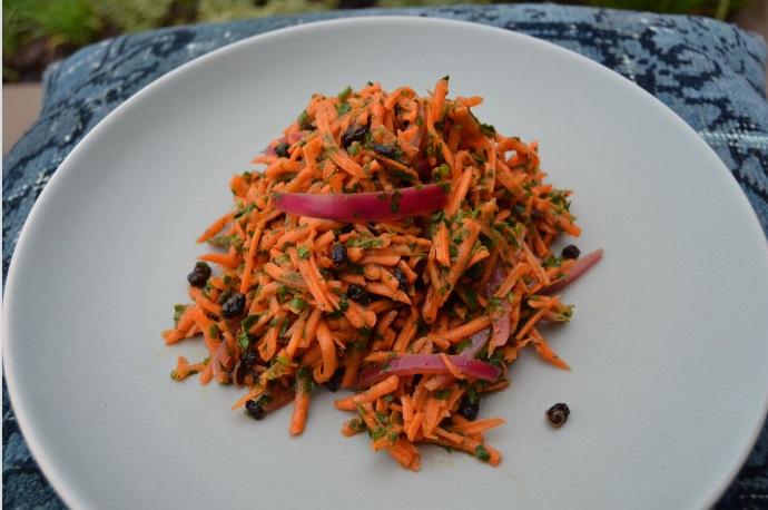 Parisian Grated Carrot Salad