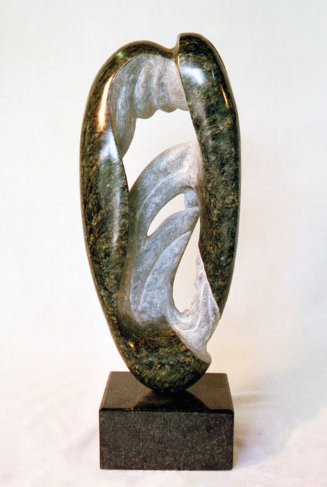 Dean Richard Leary, Green Seed, N.C. soapstone