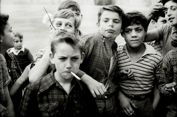 """Photograph: Ken Van Sickle, Les GarÇons, 1955,12"""" x 19"""" or 30"""" x 40"""""""