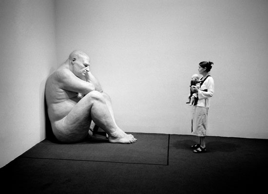 John Rosenthal,  Big Man and Child