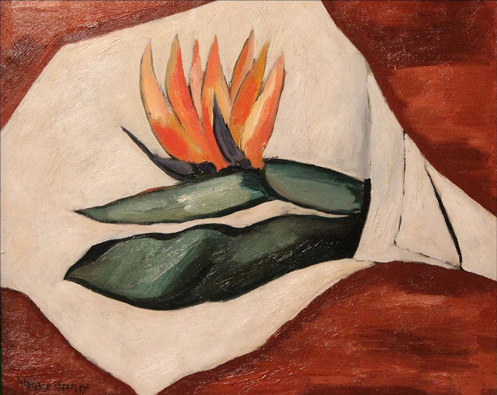 Hartley, Marsden (1877-1943), Bird of Paradise Flower #1, 1928, Private Collection
