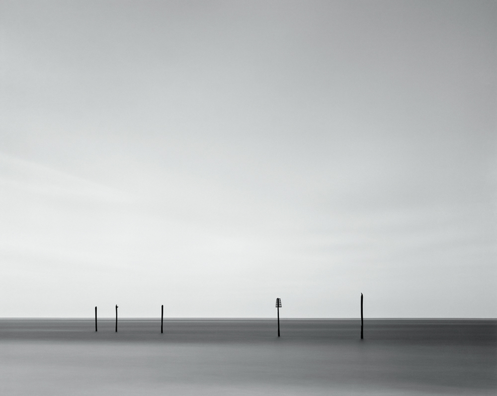 "Mike Basher, Beaufort Inlet I, 2015, silver gelatin photograph, edition 3/5, 40"" x 50"""
