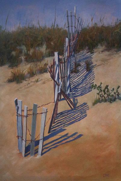 Lori White,  Dune Fence Chaos