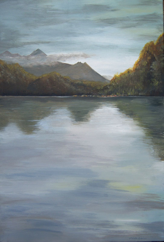 Linda Eddins, At the Lake