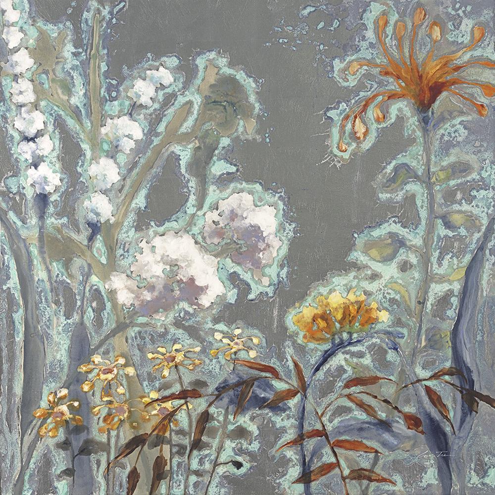 """Lun Tse, Patina Gardens, oil on canvas, 48"""" 48"""""""