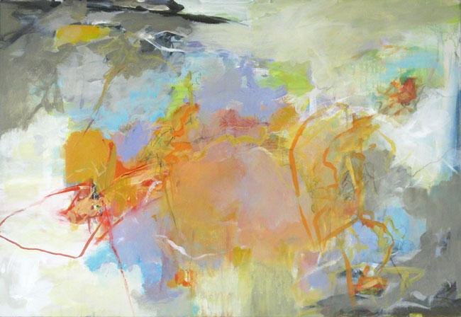 "Peggy Vineyard, Expectations, acrylic, 24"" x 36"""