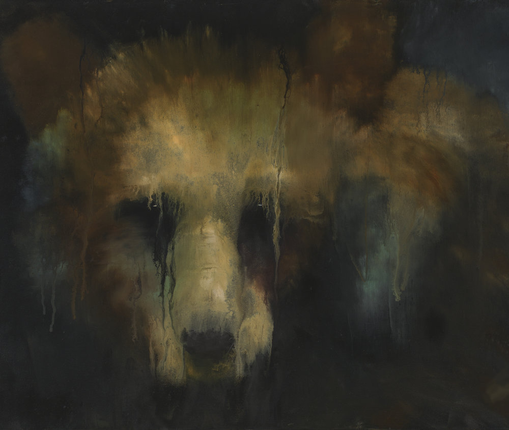 "Cason Rankin,In the Evening Mist, 2017, acrylic on canvas, 28"" x 40"""