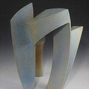 Brian Evans,Tripedal Arch, 2016,stoneware ceramics 22″ x 15″x 16″