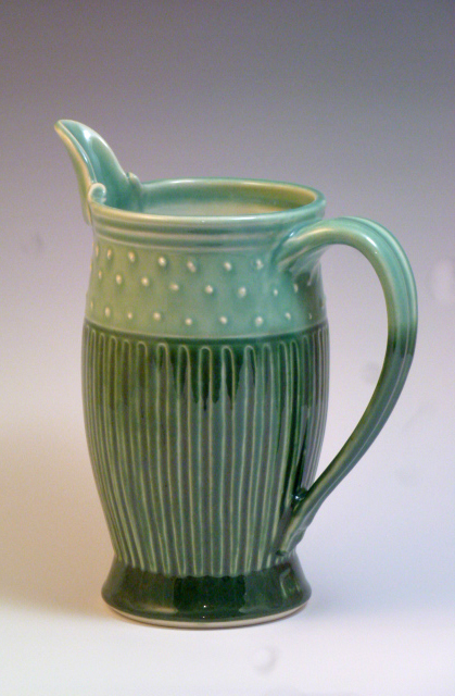 Green Pitcher with Dots.jpg