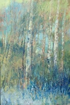 Abstract Impressionist Fine Art
